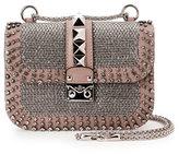 Valentino Lock Brilliant Small Shoulder Bag, Multi