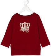 Lapin House - crown sweatshirt - kids - Spandex/Elastane/viscose - 4 yrs