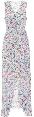 Poupette St Barth Bonnie floral wrap dress