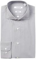 Isaac Mizrahi Solid Oxford Slim Fit Dress Shirt