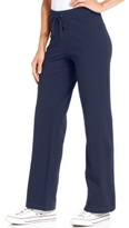 Style&Co. Style & Co Style & Co Petite French-Terry Drawstring Pants, Created for Macy's