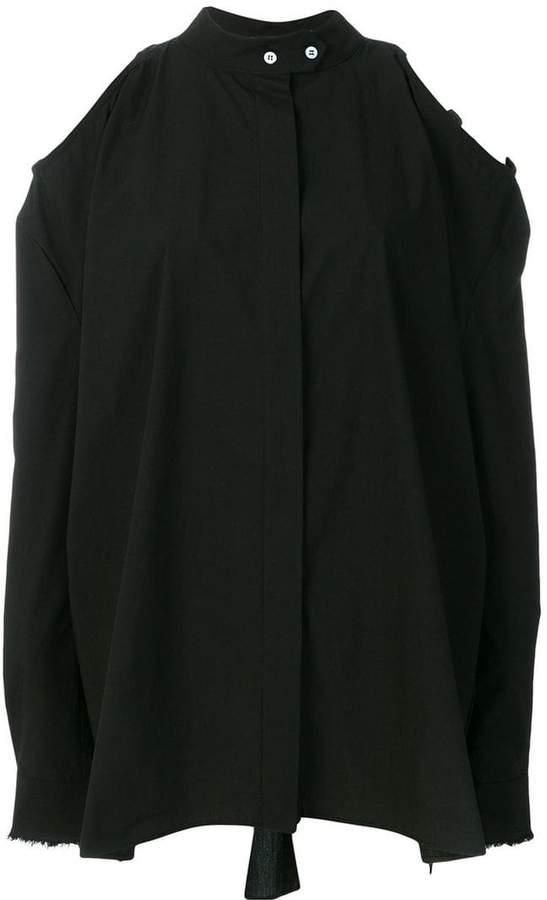 Damir Doma cold shoulder shirt