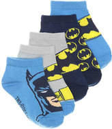 Warner Bros Batman Toddler No Show Socks - 5 Pack - Boy's