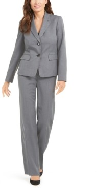 Le Suit Pin-Dot Pantsuit