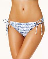 Jessica Simpson Tie-Dyed Side-Tie Bikini Bottoms Women's Swimsuit