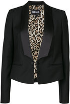 Just Cavalli cropped dinner jacket
