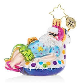 Christopher Radko Floating Through The Holidays Gem Ornament