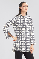 Josie Natori Window Pane Tunic