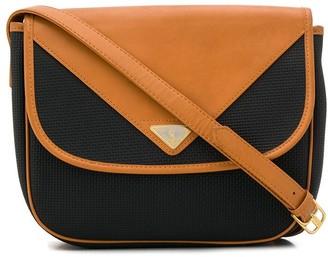 Yves Saint Laurent Pre Owned 1980 Flap Panelled Crossbody Bag