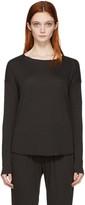 Raquel Allegra Black Jersey Basic T-shirt