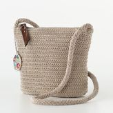 Rosetti crochet mini cross-body handbag