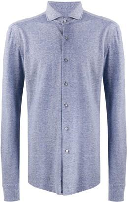 HUGO BOSS Spread Collar Slim Fit Shirt