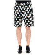 Valentino Camustar Print Shorts