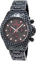 Toy Watch ToyWatch Imprint Carbon Fiber-Plasteramic Chronograph Watch, Black
