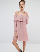 Glamorous Off Shoulder Long Sleeve Festival Dress