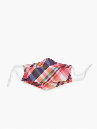 Talbots Echo Plaid Face Mask
