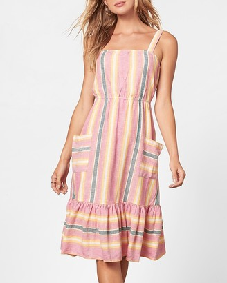 Express Pink Lemonade Midi Dress