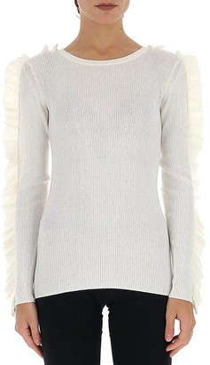 See by Chloe Ruffle Trimmed Jumper