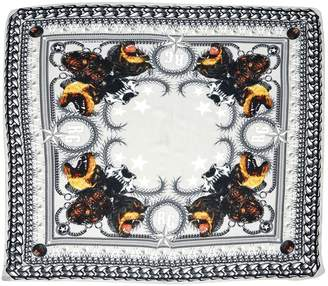 Givenchy Grey Cashmere Scarves