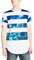 Akademiks Men's Hunt Longline Printed T-Shirt