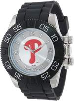 Game Time Men's MLB-BEA-PHI Beast Philadelphia Phillies Round Analog Watch