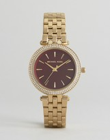 Michael Kors Gold Tone Darci Watch