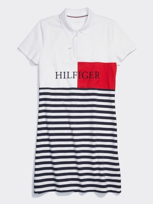 Tommy Hilfiger Stripe Polo Dress