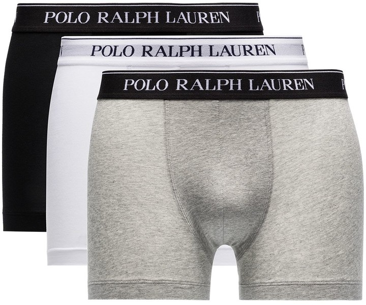 Polo Ralph Lauren 3-Pack Logo Waistband Boxer Briefs