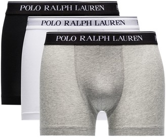 Polo Ralph Lauren 3-Pack Logo Waistband Boxer Briefs