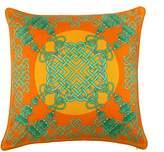 Bivain - Xanadu Jade Silk Cushion