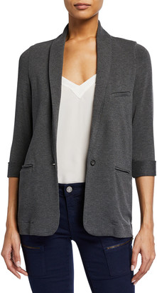 Joie Neville Shawl French Terry Blazer