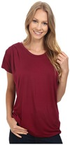 B Collection by Bobeau - Nora Scoop Neck Tee Women's T Shirt