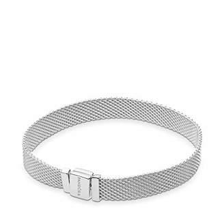 Pandora Women Silver ID Bracelet - 597712-17