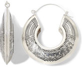 JCPenney Decree Tribal-Design Hoop Earrings