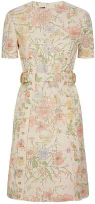 Gucci Floral Tapestry Dress