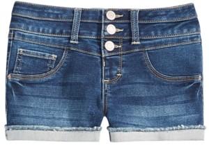 Imperial Star Big Girls Mila Cuffed Denim Shorts