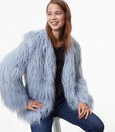 LOFT Plush Jacket
