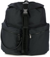 Emporio Armani front pockets backpack
