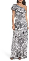 Maggy London Women's Print Maxi Dress