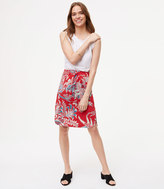 LOFT Petite Iris Drawstring Skirt