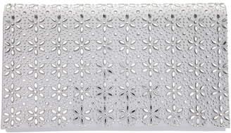 Nina Crystal Flower Embellished Clutch