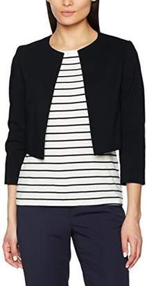 Esprit Women's 998eo1g800 Suit Jacket, (Black 001), 10 (Size: )