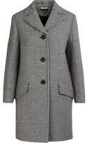 Miu Miu Wool coat with sequins