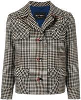 Etro cropped tweed jacket