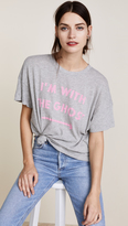 Wildfox Couture Ghosted Sonic Tee