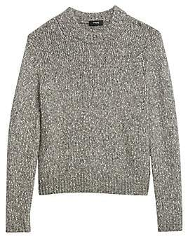 Theory Women's Speckled Knit Sweater