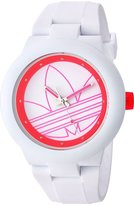 adidas Women's 'Aberdeen' Quartz Rubber and Silicone Casual Watch, Color: (Model: ADH3211)