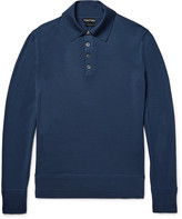 Tom Ford - Knitted Wool Polo Shirt