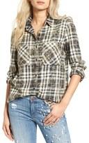 BP Women's Washed Plaid Shirt