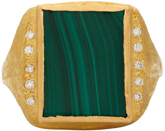 ELHANATI Gold VVS Diamond Roxy Signature Ring